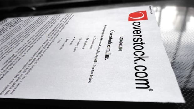 Op-ed - Overstock.com S-3 Filing Details up to $500 million of Digital Securities on the Bitcoin Blockchain