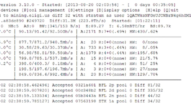 Op-ed - BFGMiner Development Team Releases Version 4.0 of Leading Bitcoin Mining Software