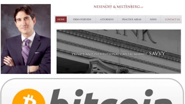 Op-ed - Manhattan Law Firm Embraces the Bitcoin Currency