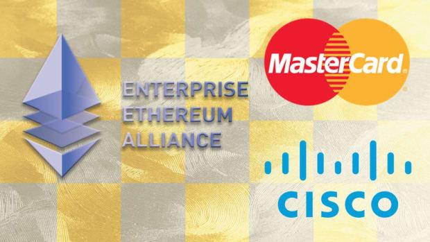 - Mastercard and Cisco Join Enterprise Ethereum Alliance