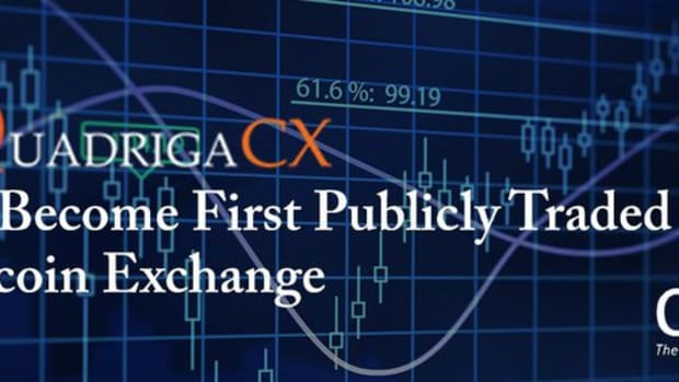Op-ed - Breaking: Canadian Exchange QuadrigaCX to Become World's First Publicly Traded Bitcoin Exchange