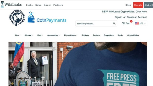 Payments - WikiLeaks Store Loses Coinbase Support