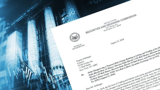 """- Not a Done Deal: U.S. SEC """"Will Review"""" Most Recent ETF Decisions"""