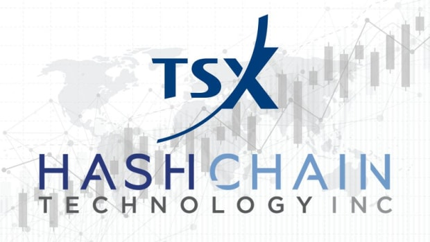 Adoption - Canadian TSX Venture Exchange Approves Crypto-Mining Company HashChain to Launch Monday