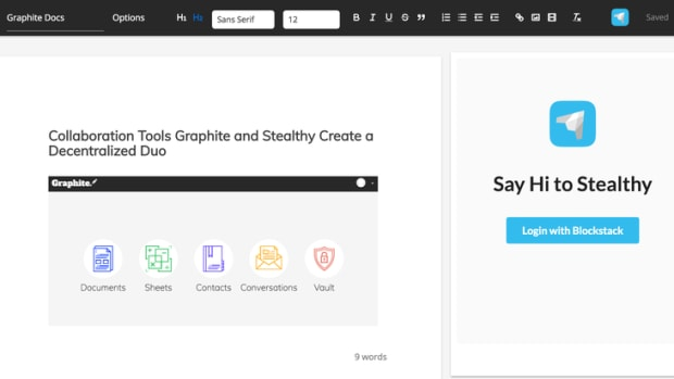 Startups - Collaboration Tools Graphite and Stealthy Create a Decentralized Duo