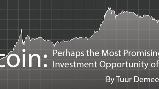 Op-ed - Bitcoin: Perhaps the Most Promising Investment Opportunity of Our Age