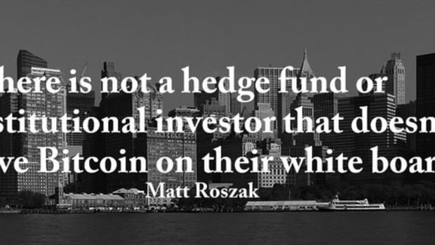 """Blockchain - A """"Perfect Storm"""" Brewing for Bitcoin and Wall Street? Noble Markets & NASDAQ"""