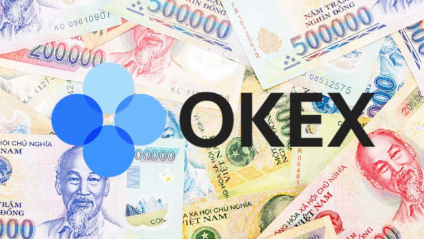 Digital assets - OKEx Adds Support for the Vietnamese Dong on Its Fiat-to-Crypto Platform