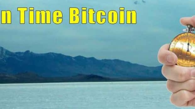 Op-ed - Introducing – Just in Time Bitcoin