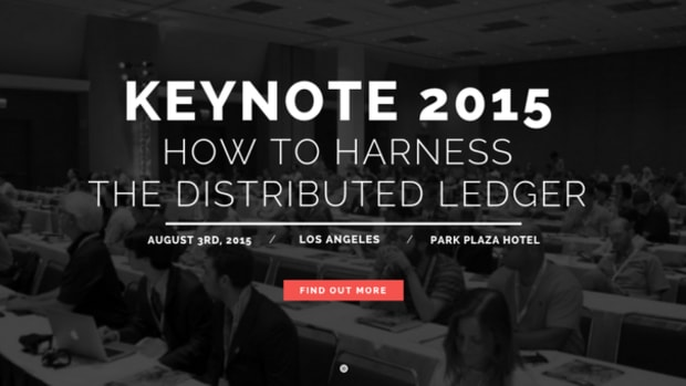 Op-ed - KEYNOTE 2015: Rebooting Finance with a New Kind of Ledger