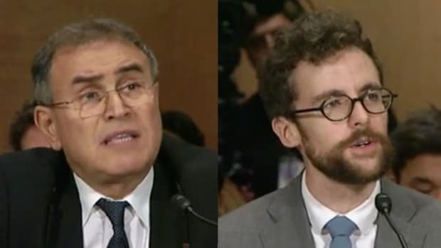 Regulation - Roubini Faces Off With Coin Center's Van Valkenburgh at Senate Hearing