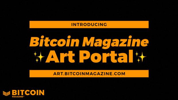 Bitcoin Magazine Art Portal