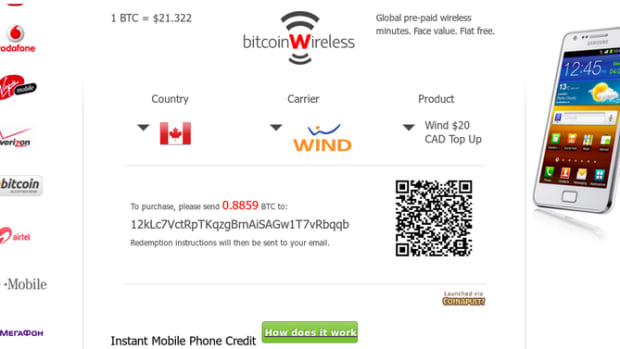 Op-ed - BitcoinWireless: Top Up Your Phone Plan with Bitcoins