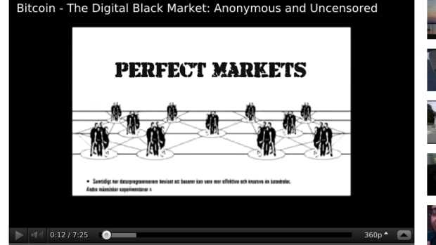 Op-ed - Bitcoin – The Digital Black Market: Anonymous and Uncensored [VIDEO]