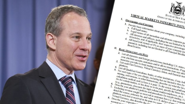 Regulation - New York Attorney General Launches Inquiry Into Cryptocurrency Exchanges