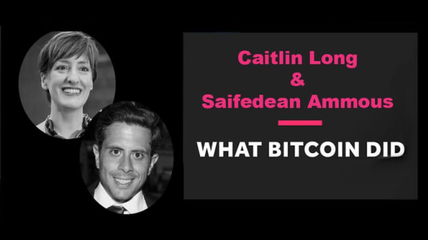 Let's talk bitcoin - Caitlin Long and Saifedean Ammous Debate the Future of Cryptocurrency