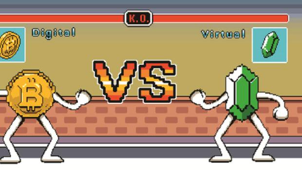 Op-ed - Digital vs. Virtual Currencies