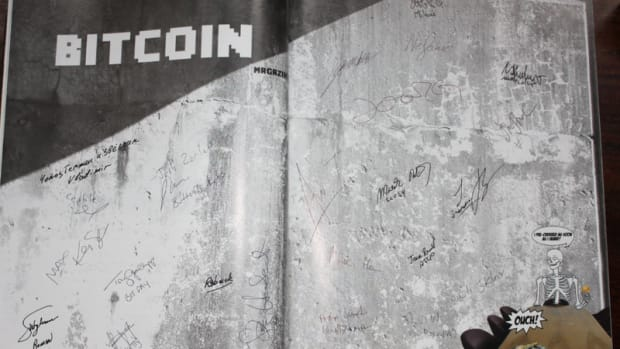 Op-ed - Bitcoin Magazine #1 ubercollectable edition is looking for its owner