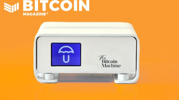 The Bitcoin Machine cover 1