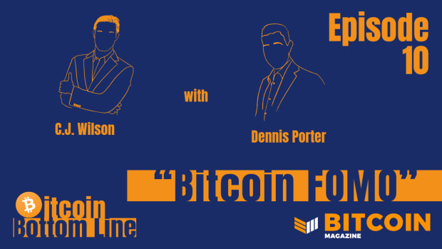 In a fireside chat with podcaster Dennis Porter, he covered discussing Bitcoin with those who don't get it yet.