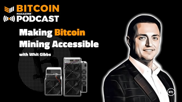 Discussing Bitcoin mining accessibility for the masses with Whit Gibbs of Compass Mining.