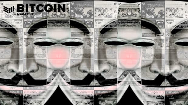 Satoshi Nakamoto, pseudonymous founder of Bitcoin and its Genesis Block, is often depicting with a Guy Fawkes mask.