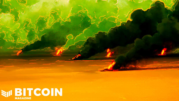 The apocalypse, or burning oil fields, is an image brought to mind by fiat for many in the bitcoin space.