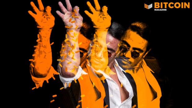 Salt Bae is famous for sprinkling salt, those in the Bitcoin space are famous for sprinkling orange pills