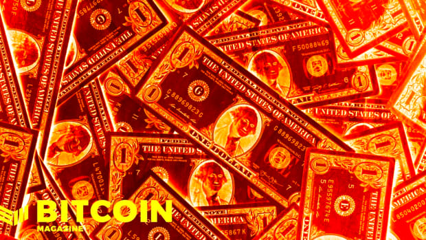Fiat money, like the U.S. dollar or USD, is constantly being devalued as bitcoin grows.