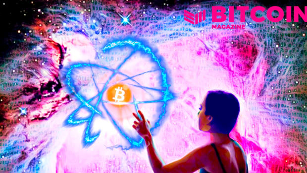 The limitations of the physical world and the limitless experience of information is combined in Bitcoin.