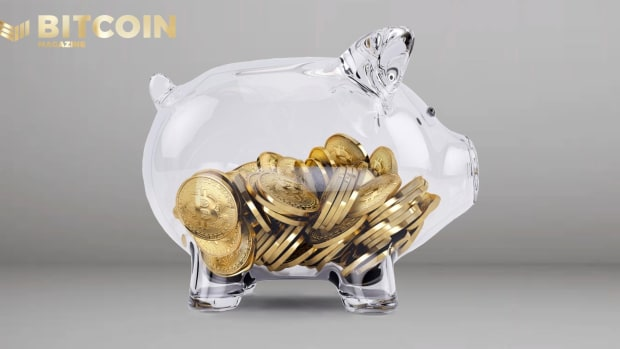 Saving your bitcoin, not in a literal piggy bank, is a great practice.