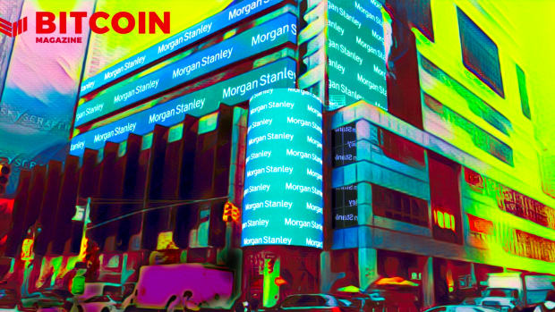 Morgan Stanley is a legacy financial institution that will inevitably embrace Bitcoin.