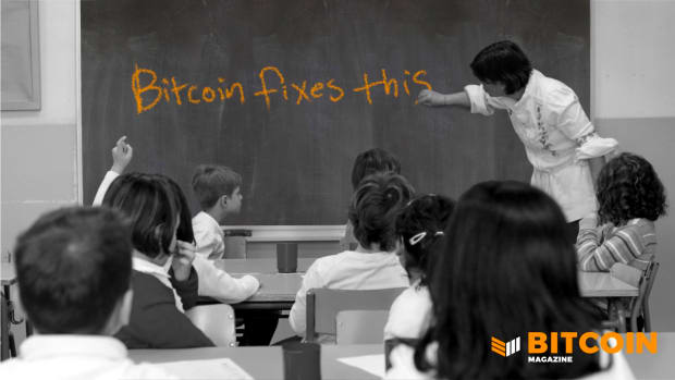 """When the individual changes their behavior for the better, the world changes for the better. That is why """"Bitcoin fixes this."""""""
