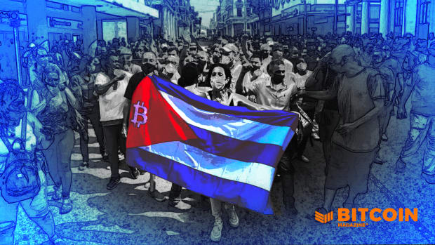As political demonstrations show the world that Cubans are tired of dictatorship, Bitcoin is providing an option to peacefully protest and opt out of a broken system.