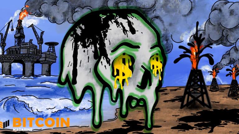 Major Oil Spills Won't Happen Under A Bitcoin Standard