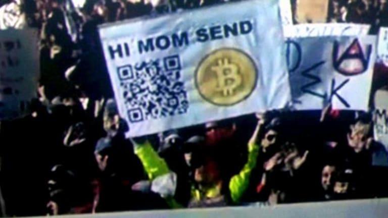 Hi Mom! Send More Bitcoins!