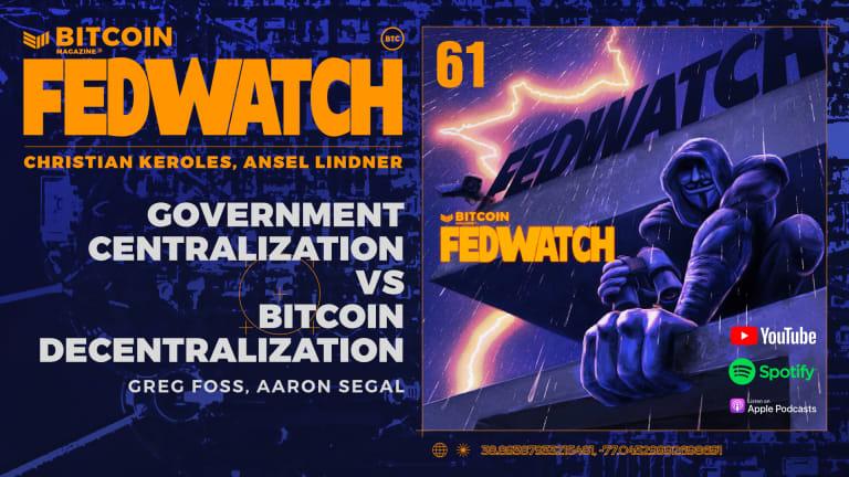 Government Centralization Vs. Bitcoin Decentralization