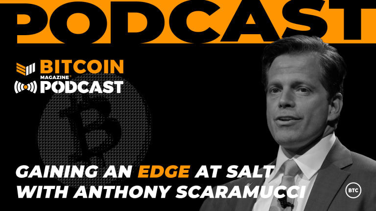 Bitcoin And The SALT Conference With Anthony Scaramucci