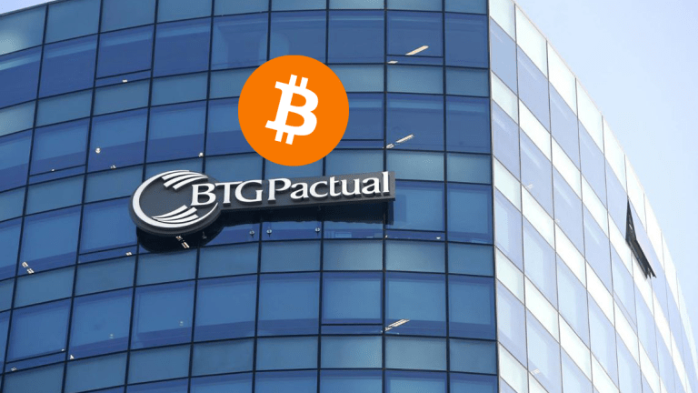 $80 Billion Brazilian Investment Bank Launches Bitcoin and Crypto Trading App