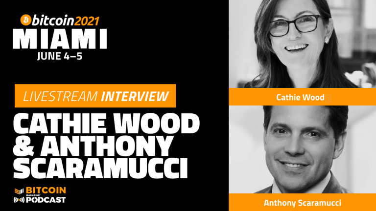 The Institutional Landscape For Bitcoin With Cathie Wood And Anthony Scaramucci