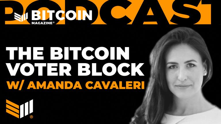 Discussing The Bitcoin Voter Block With Amanda Cavaleri