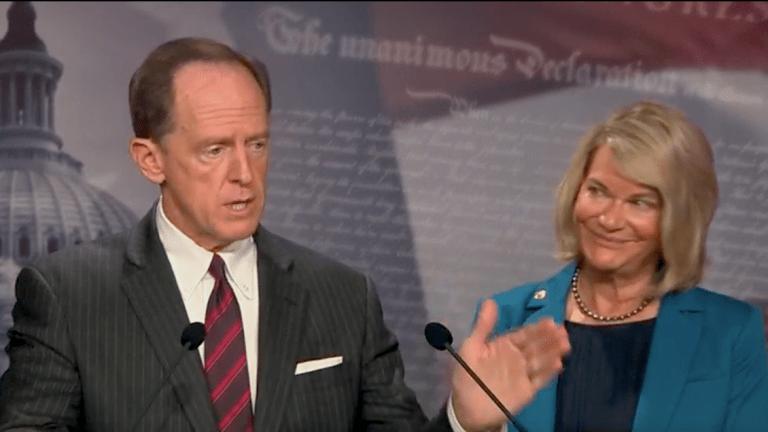 Senators Toomey, Lummis Push Bitcoin Amendment to Infrastructure Bill