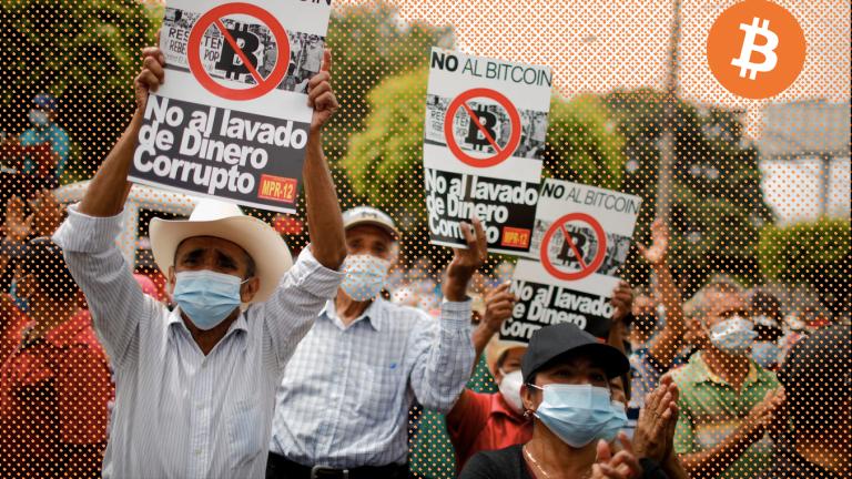 El Salvador's Bitcoin Adoption Met With Small Protests