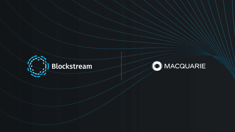 Blockstream Partners With Macquarie To Explore Renewable Bitcoin Mining Solutions
