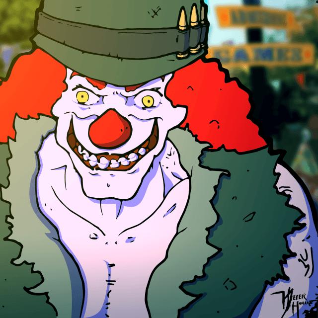 Heavily Armed Clown