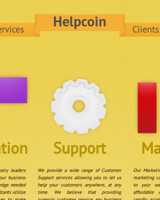 Op-ed - Helpcoin: Bitcoin's Newest Consulting Company
