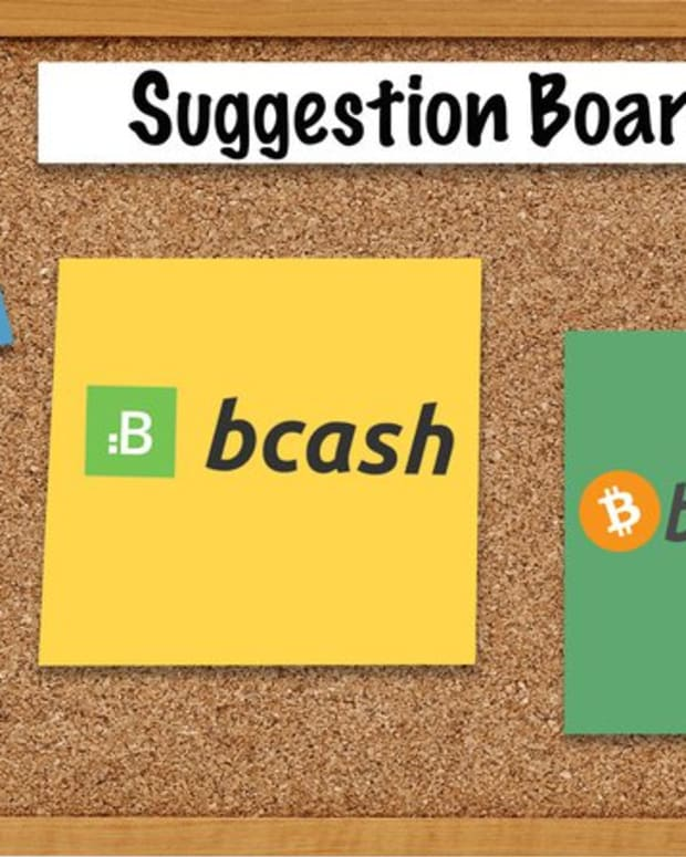 Adoption & community - Bitcoin Cash or Bcash: What's in a Name?