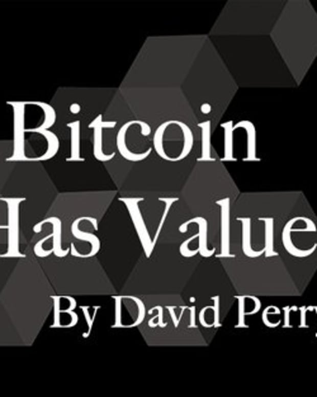 Op-ed - Why Bitcoin Has Value