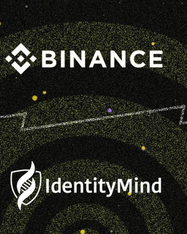 Investing - Binance Partners With IdentityMind for Enhanced Compliance and Security