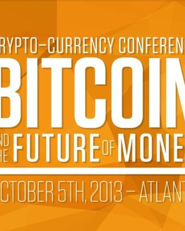Op-ed - October 2013 Crypto-Currency Conference Preview